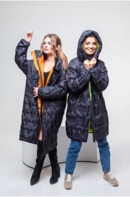 Эффектное двустороннее пальто