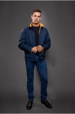 Куртка мужская темно-синего цвета