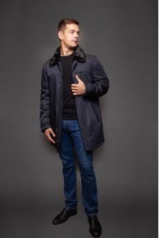 Мужская темно-синяя куртка