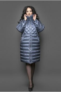 """Эксклюзивное женское пальто силуэта """"Оверсайз"""" в приятном цвете """"Iron Gray""""."""