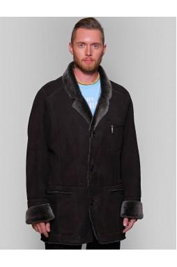 Статусная мужская дубленка – пиджак