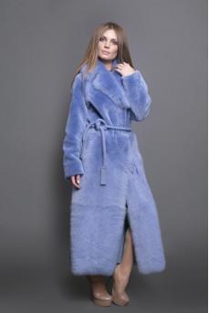 Роскошное меховое пальто
