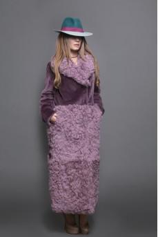 Эксклюзивное пальто в цвете «violet»