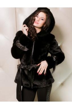 Женская куртка из меха норки