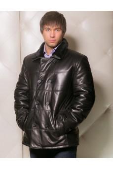 Двубортная мужская куртка