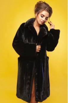 Ультрамодное норковое пальто от итальянских дизайнеров