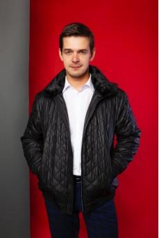 Фирменная куртка в цвете «графит»