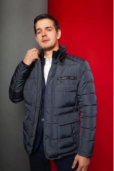"Зимняя мужская куртка - пуховик в стиле ""Casual"""