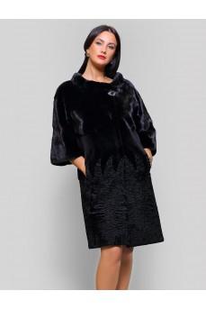 Женская шуба из аукционного меха норки
